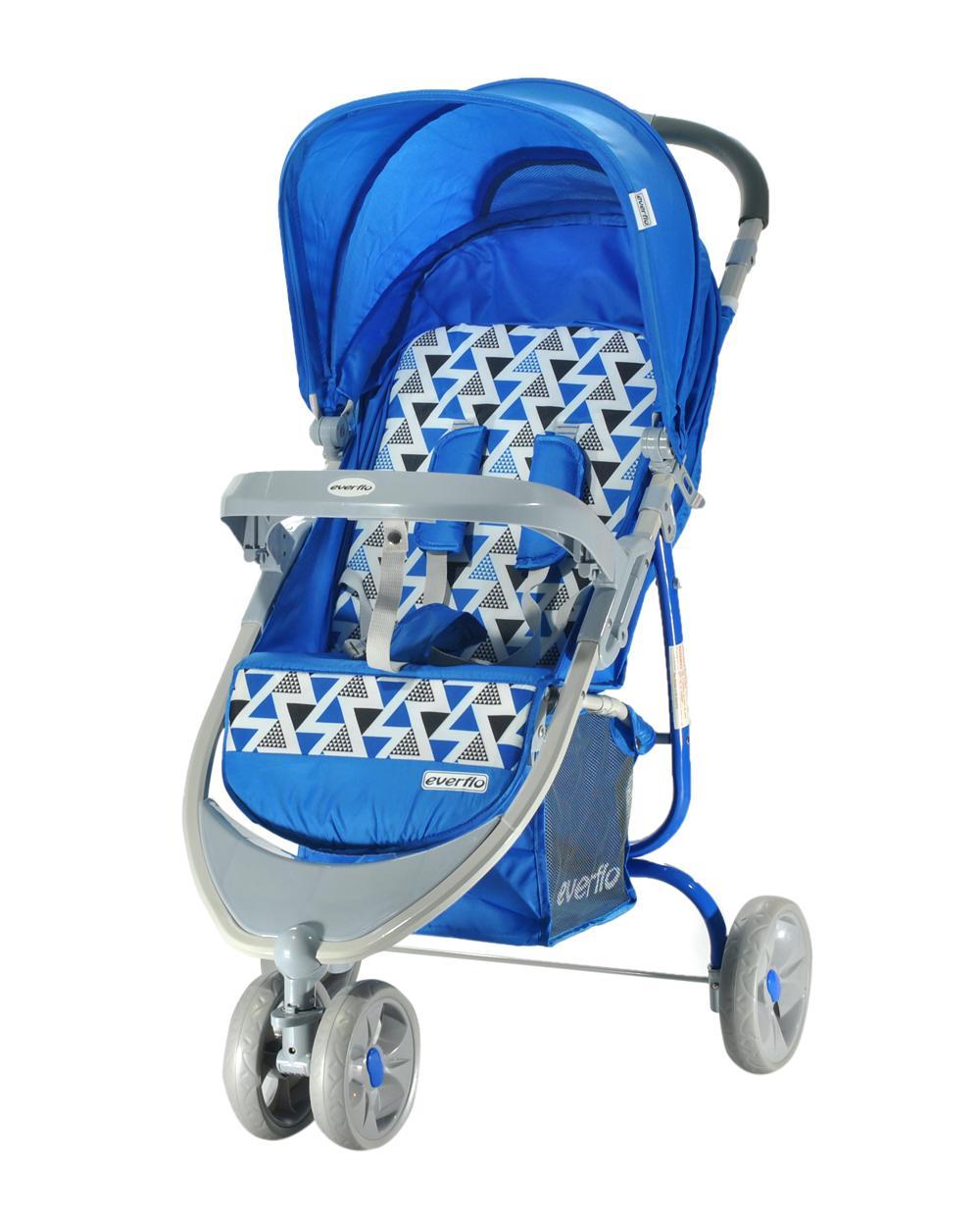 Купить УТ000000297, EVERFLO Коляска прогулочная Country E-940 Blue [E-940 Country], Детские коляски