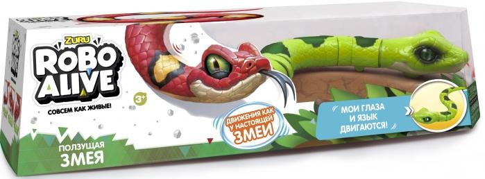 Купить Игрушка роботизированная змея Zuru Robo Alive(зеленая) [Т10995], Для мальчиков и девочек, Развивающие игрушки для малышей