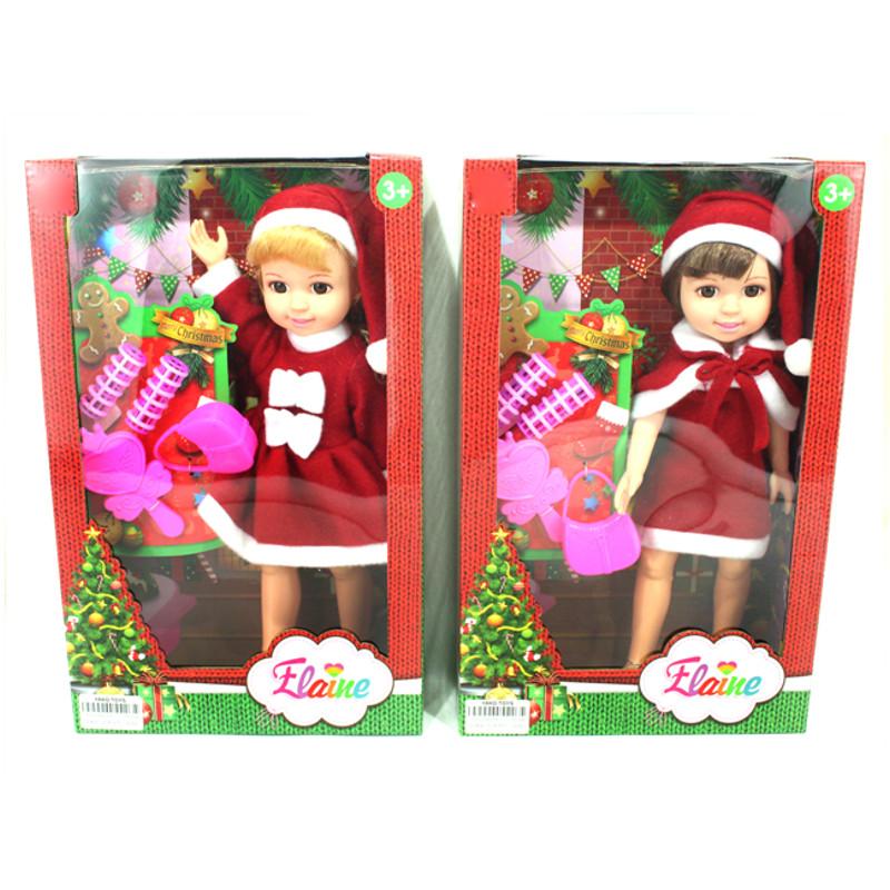 Купить НАША ИГРУШКА Кукла Джемми-Снегурочка в красн.костюме, 4 аксесс [Y20058016], Для девочек, Куклы и пупсы
