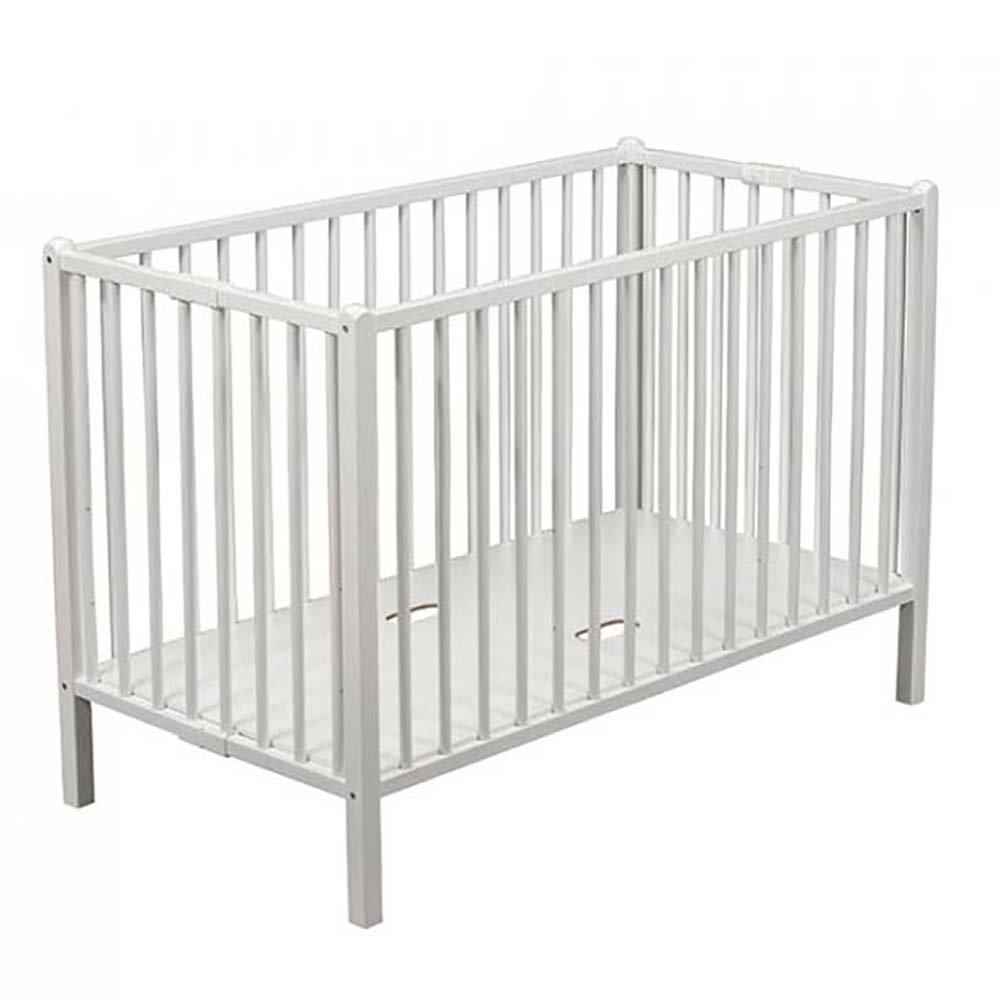 Купить 661, COMBELLE Кровать 120х60 ROMEO 3-х уров. White / Белый, Франция, Кроватки детские
