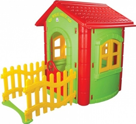 Купить PILSAN Домик игровой с забором MAGIC [6194plsn], Детские игровые домики и палатки