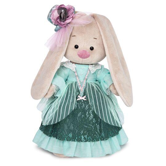 Купить Мягкая игрушка BUDI BASA StS-274 Зайка Ми барышня в персидском зелёном 25см, Искусственный мех, Мягкие игрушки