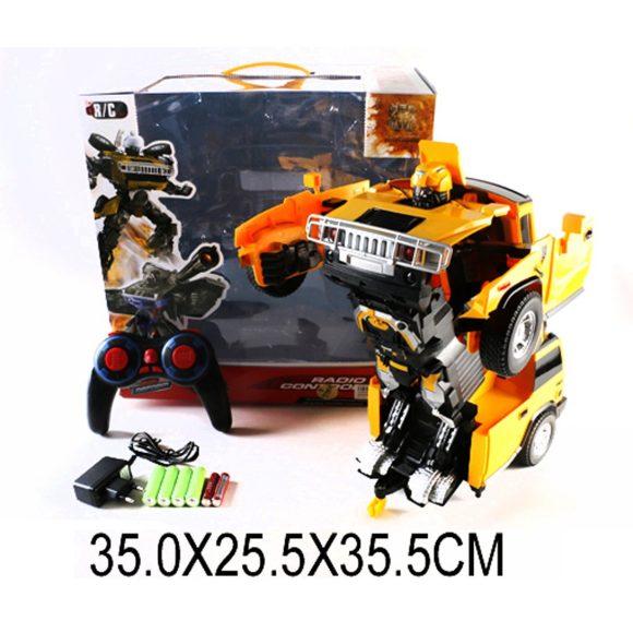 Купить НАША ИГРУШКА Трансформер р/у, Робот-машина, свет, звук, аккум., эл.пит.вх.в комплект [W298-15], Игрушечные роботы и трансформеры