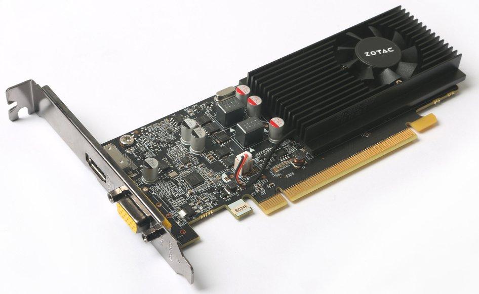 Видеокарта nVidia GeForce GT1030 Zotac PCI-E 2048Mb (ZT-P10300E-10L)