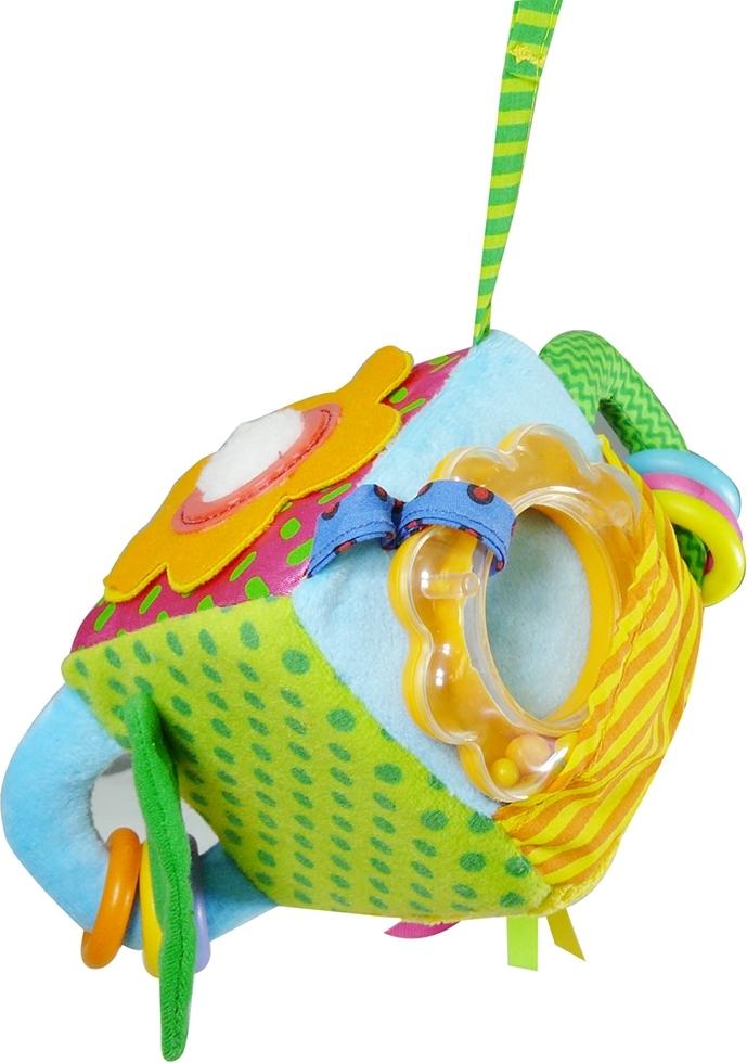 Купить BIBA TOYS Развивающая игрушка-мягкий кубик ВЕСЕЛЫЙ САД 45x25x32 см [GD013], Кубики для малышей