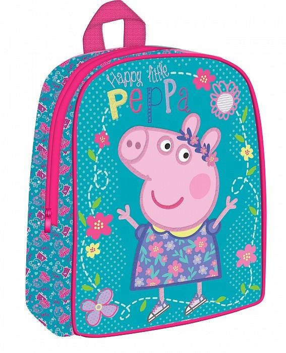 Купить РОСМЭН Рюкзачок средний Peppa Pig. Умница [32045], Китай, Рюкзаки и ранцы для школы