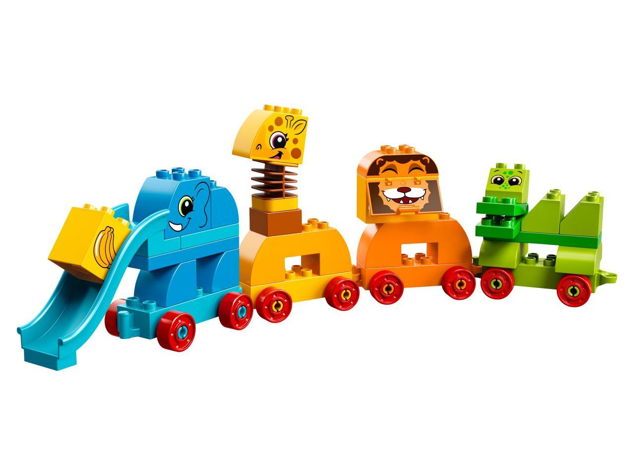 Купить Конструктор LEGO 10863 Duplo My First Мой первый парад животных, пластик, Для мальчиков и девочек, Венгрия, Конструкторы