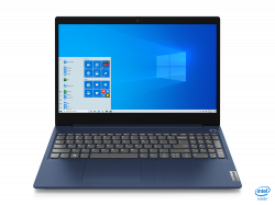 Ноутбук Lenovo IdeaPad 3 15IIL05 (81WE00KMRU) синий