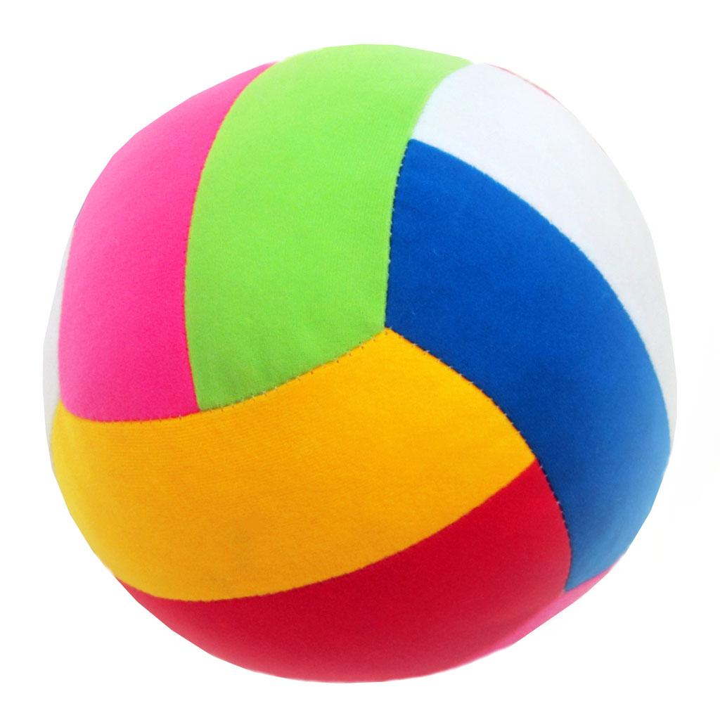 Купить Мяч МЯКИШИ 046 Шалун, Мякиши, Трикотаж, холлофайбер, Для мальчиков и девочек, Россия, Развивающие игрушки для малышей