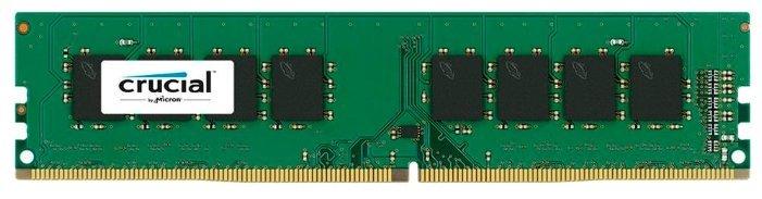 Оперативная память 4Gb DDR4 2666MHz Crucial (CT4G4DFS8266)