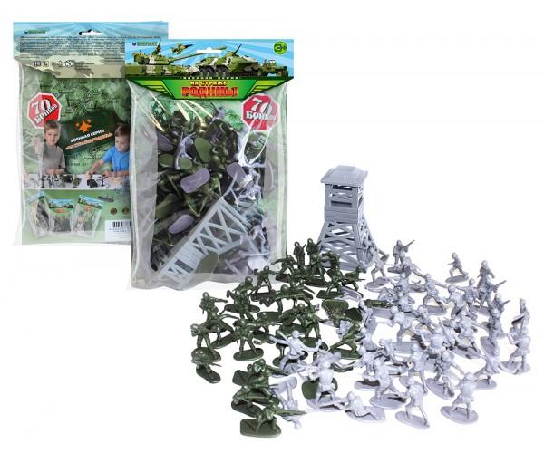 Купить ИГРОВЫЕ НАБОРЫ Игровой набор Рота солдат [12053], Игровые наборы, пластик, Игрушечные машинки и техника