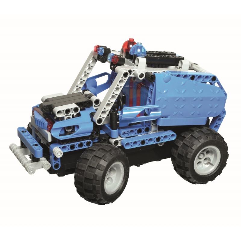 Купить Конструктор CYBER TOY 7781 CyberTechnic 2 в 1 303 детали, пластик, Для мальчиков и девочек, Китай, Конструкторы