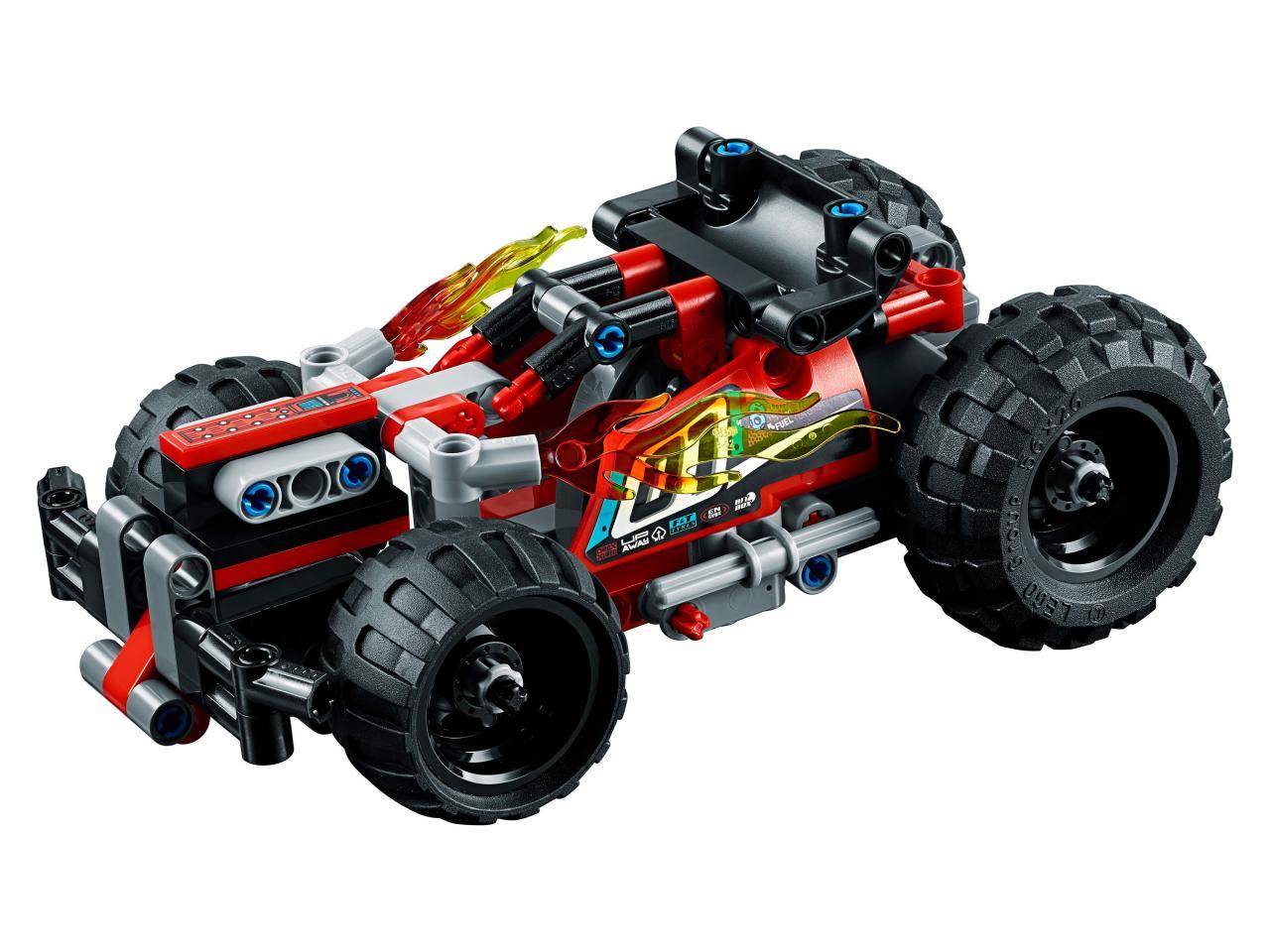 Купить Конструктор LEGO 42073 Technic Красный гоночный автомобиль, пластик, Для мальчиков и девочек, Китай, Конструкторы
