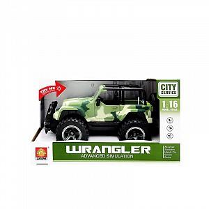 Купить JUNFA TOYS Джип инерционный (зеленый) [MY391A], Металл, пластик, Китай, Игрушечные машинки и техника