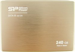 Накопитель SSD 240 Гб Silicon Power S70 (SP240GBSS3S70S25) SATA 2.5