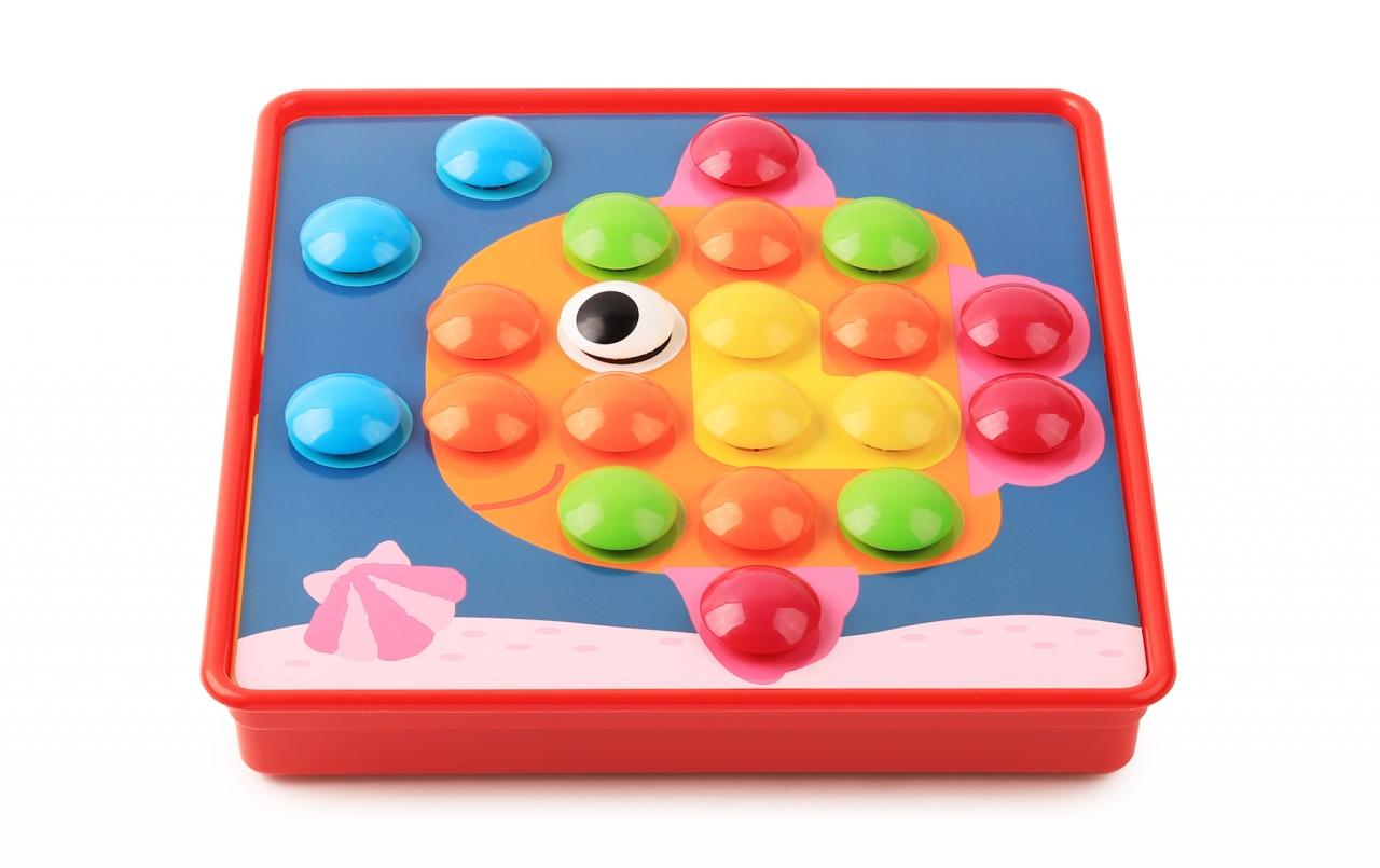 Купить Игровой набор HAPPY BABY 331847 ART-PUZZLE, АБС-пластик, полипропилен, Развивающие игрушки для малышей