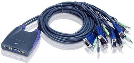 Купить КВМ-переключатель Aten USB CS64UZ-AT