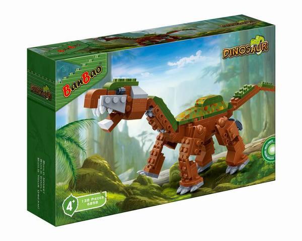 Купить BANBAO Конструктор Динозавр (138 деталей) [6858], пластмасса, Конструкторы