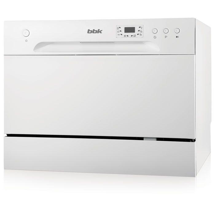 Посудомоечная машина BBK 55-DW012D (белый)