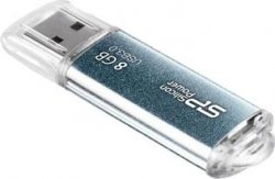 USB Flash накопитель    8Gb Silicon Power Marvel M01 Blue (SP008GBUF3M01V1B)