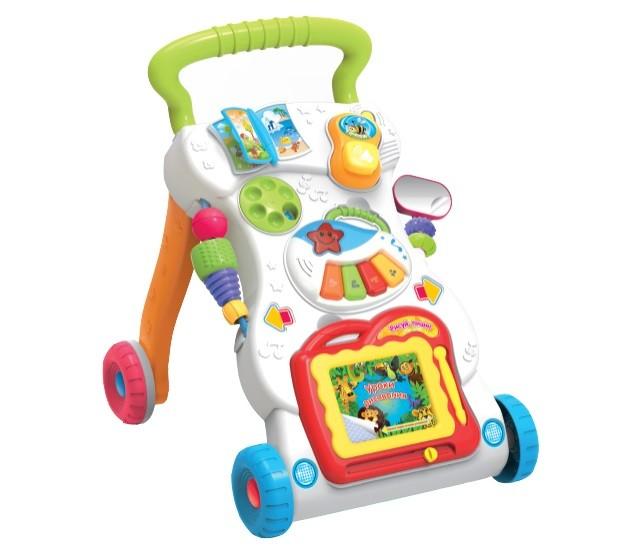 Купить ELEFANTINO Игровой центр на колёсах Elefantino , 42х34х45 см [IT101290], Развивающие игрушки для малышей