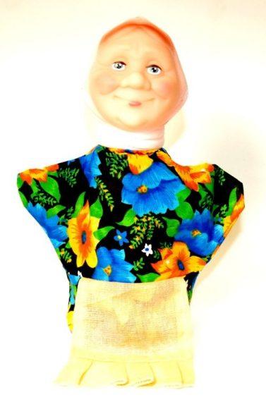 Купить РУССКИЙ СТИЛЬ Кукла-перчатка Бабка [11010], Русский стиль, Россия, Кукольный театр