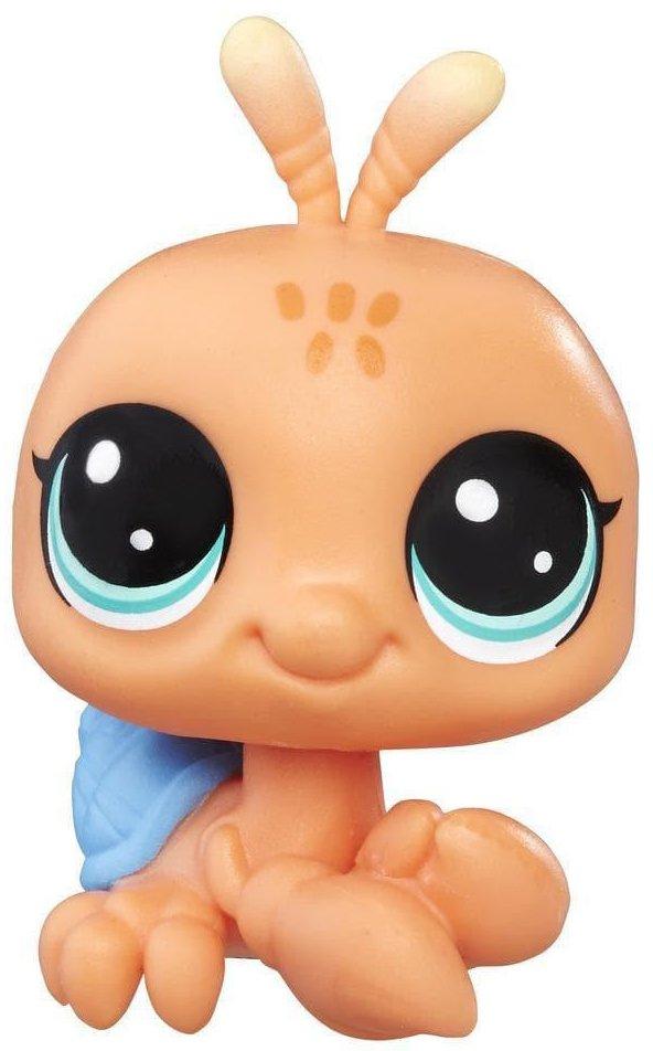 Фигурка рака-отшельника Hasbro Littlest Pet Shop Shyly Seashore 52 (B9756A8228) фото