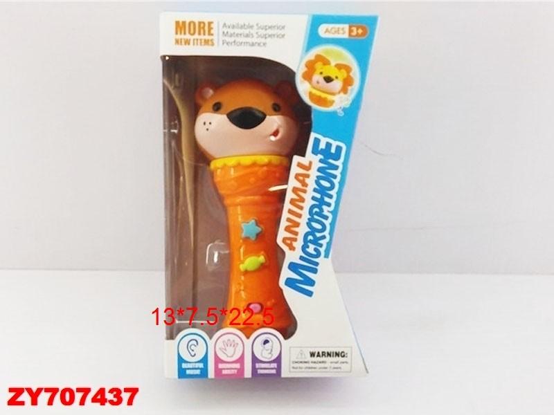 Купить SHANTOU Микрофон со световыми и звуковыми эффектами [ZY707437], 130 x 75 x 225 мм, пластик, Игровые коврики для детей