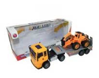 Купить JUNFA TOYS Инерционный автовоз со строительной техникой [8268-2], Пластик, металл, Китай, Игрушечные машинки и техника