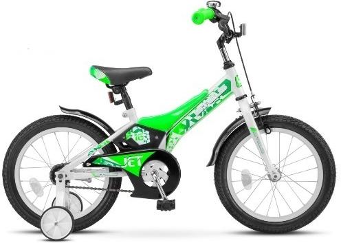 Купить Детский велосипед STELS Jet (LU072120) бело-салатовый, Велосипеды для взрослых и детей