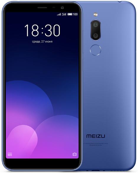 Купить Смартфон Meizu M6T 3/32Gb синий, Синий, Китай