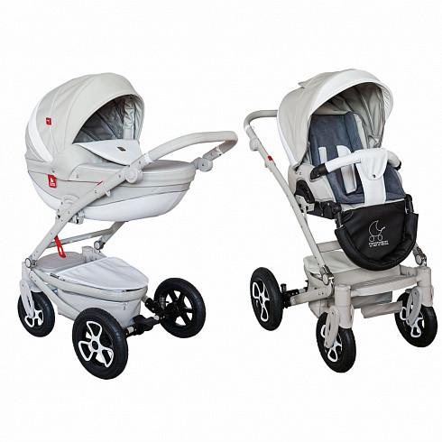 Купить TUTEK Детская коляска Timer , 2 в 1, цвет: NTMECO8SZ/SZ, серый [УТ-0002453NTMECO8SZ/SZ], пластик, Металл, Текстиль, Детские коляски