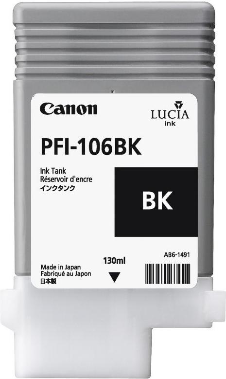 Струйный картридж Canon PFI-106 BK Black (6621B001) фото