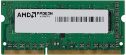 Оперативная память 4Gb DDR-III 1600Mhz AMD SO-DIMM (R534G1601S1S-UGO) OEM