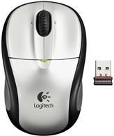 Беспроводная мышь Logitech M305 Cordless Optical Light Silver USB (910-000940)