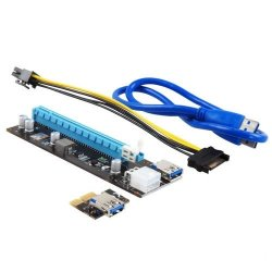 Адаптер THV Riser card for GPU 250W+ TXB091 OEM {100}