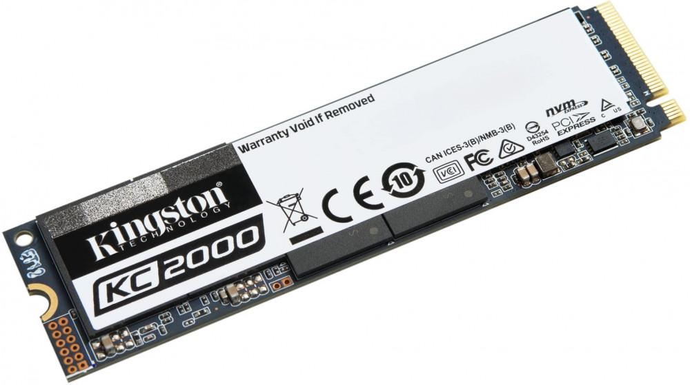 Накопитель SSD 2 Тб Kingston KC2000 (SKC2000M8/2000G) M.2 2280 фото