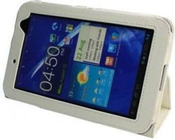 "Чехол IT BAGGAGE для планшета Samsung Galaxy Tab 2 7"" P3100/P3110 искус. кожа White ITSSGT7202-0"