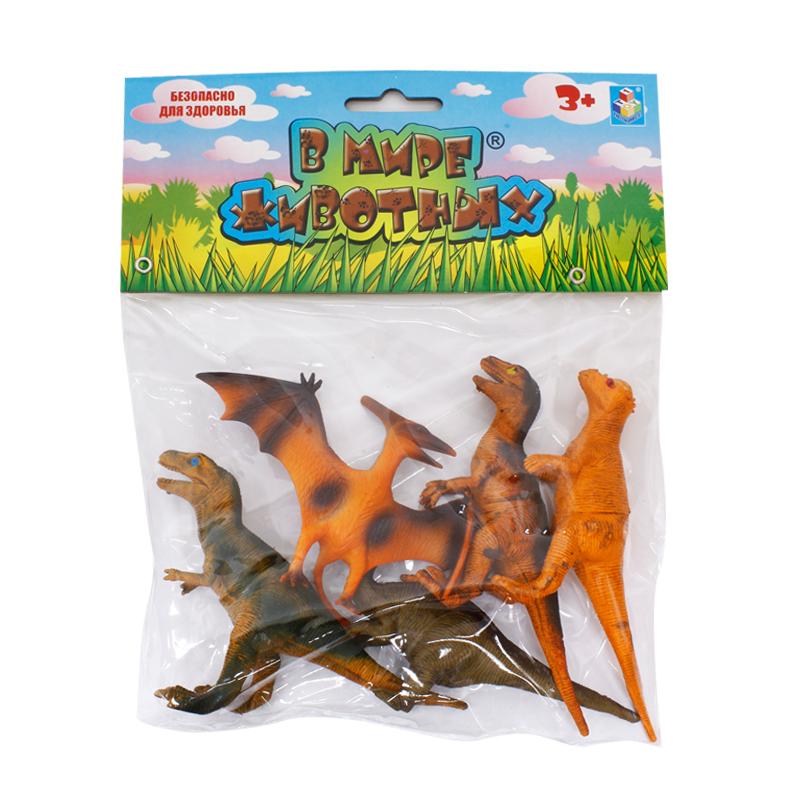 Купить Набор динозавров «В мире животных» (5 шт.) [Т53861], Brio, Для мальчиков и девочек, Игровые наборы и фигурки для детей
