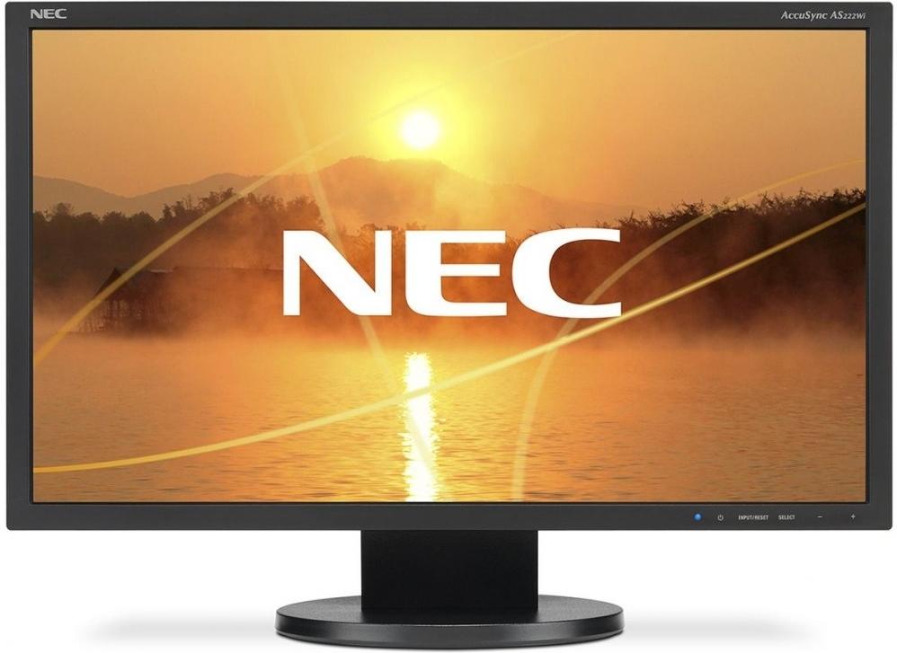 Купить Монитор NEC 22 AccuSync AS222Wi Black, Черный, Китай