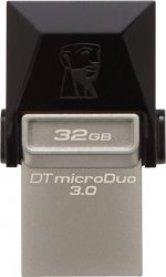 USB Flash накопитель 32Gb Kingston DataTraveler MicroDuo 3.0 (DTDUO3/32GB)