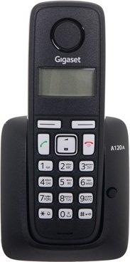 Купить Радиотелефон Gigaset А120A Black S30852-H2421-S301, Черный, Германия