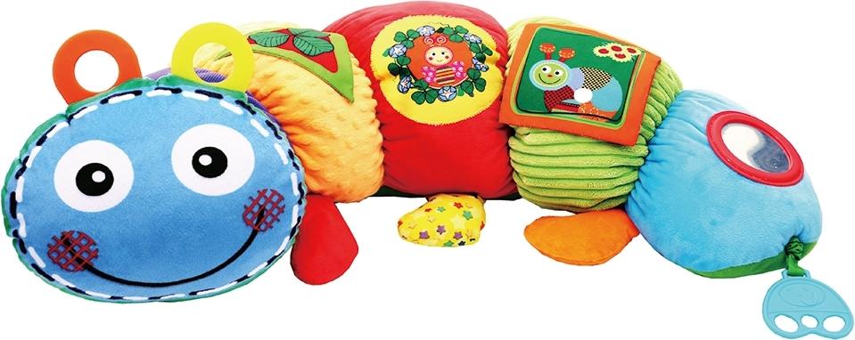 Купить BIBA TOYS Мягкая игрушка ГУСЕНИЦА, 20x75 см [GD157], Развивающие игрушки для малышей