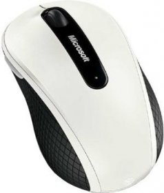 Мышь Microsoft Wireless Mobile Mouse 4000 White (D5D-00012)