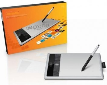 Графический планшет Wacom Bamboo Fun Pen+Touch Medium CTH-670S-RUPL