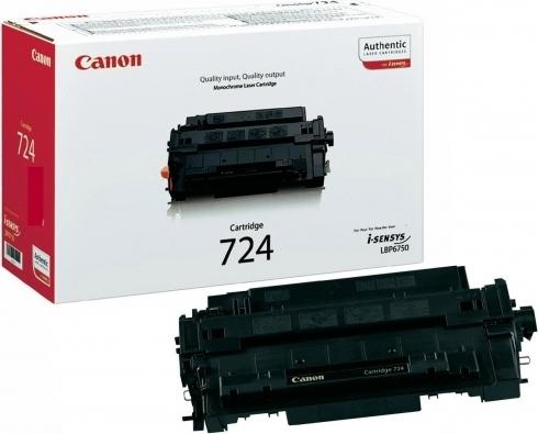 Картинка - Лазерный картридж Canon 724 Black (3481B002)