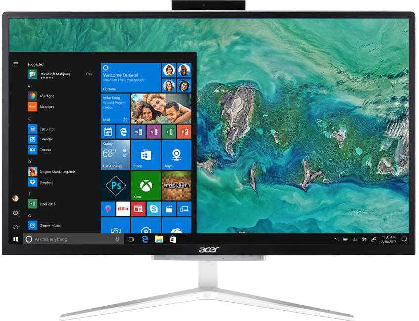 Моноблок Acer Aspire C22-820 (DQ.BDZER.005) черный