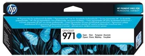 Струйный картридж HP 971 Cyan (CN622AE) фото