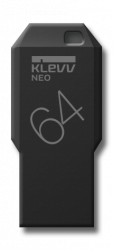 Накопитель USB Flash Klevv NEO Black edition 64GB