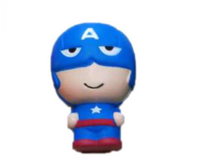 Купить 1 TOY Игрушка-антистресс М-м-мняшка. Капитан Америка , 11 см [Т14698], вспененный полимер, Игровые наборы и фигурки для детей